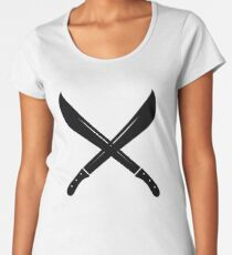 Machete Cross Women's Premium T-Shirt