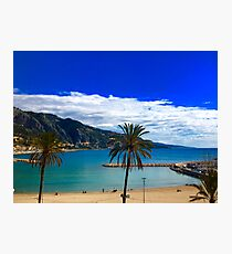 French Riviera Landscape  Photographic Print