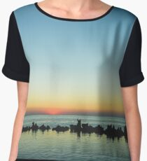Early in the morning Women's Chiffon Top