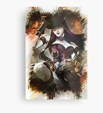 League of Legends CAITLYN Metal Print