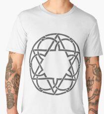 Abstract Creative Kaleidoscope Graphic Men's Premium T-Shirt