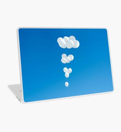 Saudade (weiße Luftballons) Laptop Folie