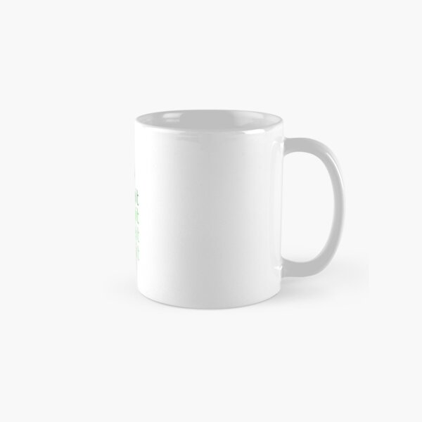 Steemit.com - Dream it, Meme It, Team it - Steemit! (Green) Classic Mug