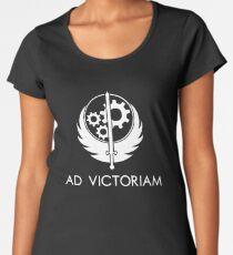 Brotherhood of Steel - Ad Victoriam Women's Premium T-Shirt