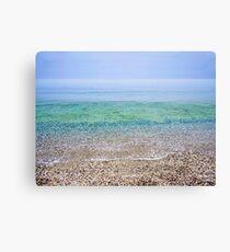Tranquil Beach Canvas Print