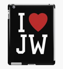 I Love Joss Whedon iPad Case/Skin