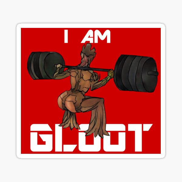 Je suis gloot Sticker
