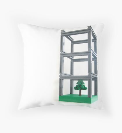 Park-ing facility Throw Pillow