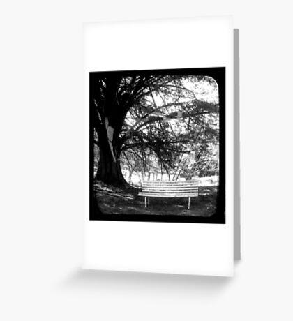 Park Bench - TTV Greeting Card