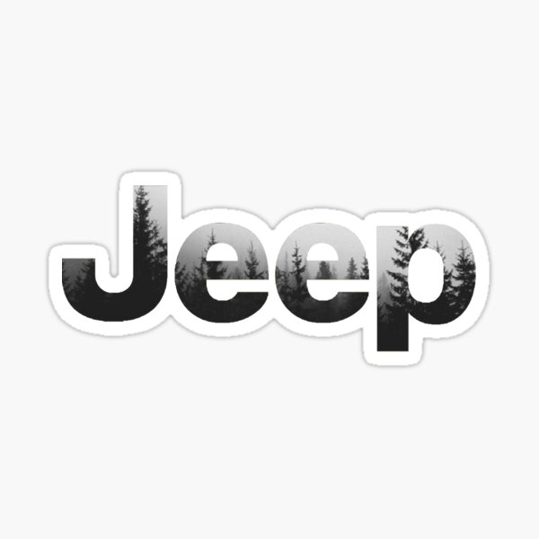 Jeep Forest Sticker
