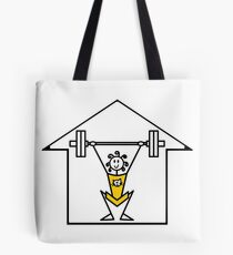 The lifting place Tote Bag