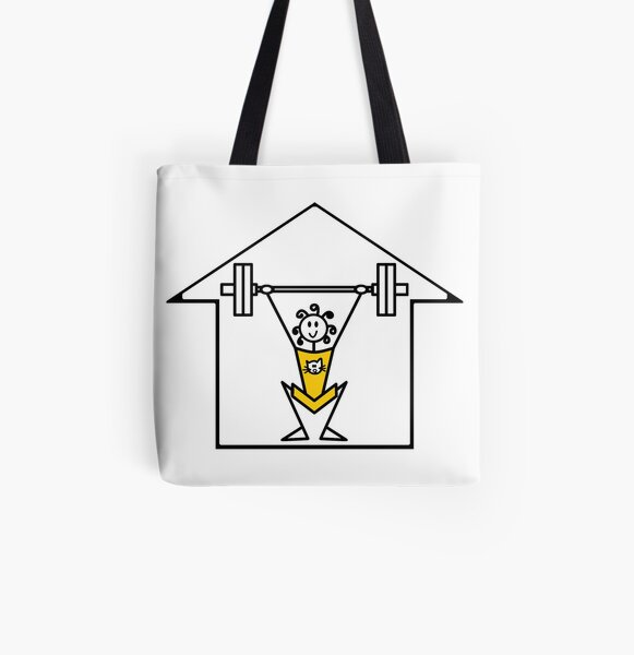 The lifting place All Over Print Tote Bag