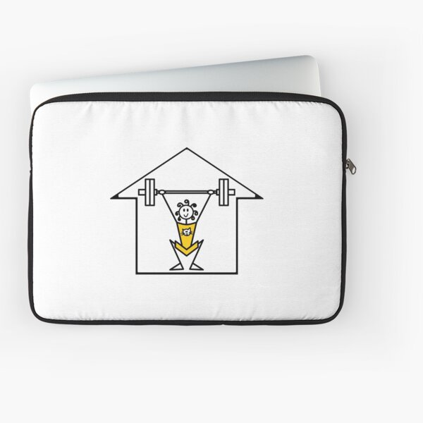 The lifting place Laptop Sleeve