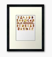Golden Age of Gaming Framed Print