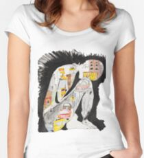 Claustrophobia Women's Fitted Scoop T-Shirt
