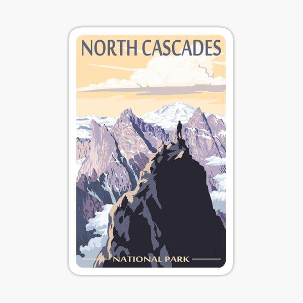 North Cascades National Park Washington State USA Travel Decal Sticker