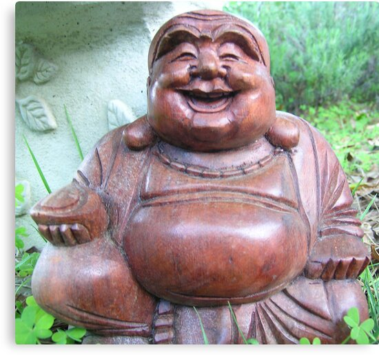 Happy Buddha  by Jaime Parker