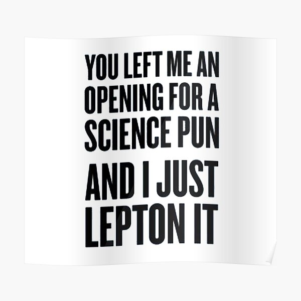 Lepton It Poster