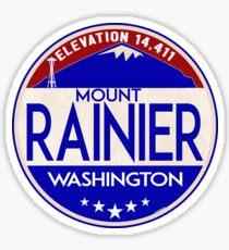 MOUNT RAINIER WASHINGTON NATIONAL PARK SEATTLE SKY NEEDLE Sticker