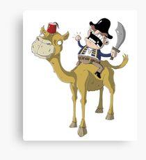 Camel Admiral Canvas Print