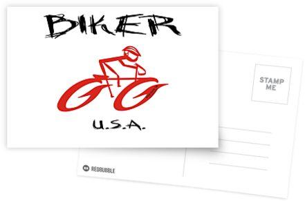 BIKER USA von Kricket-Kountry