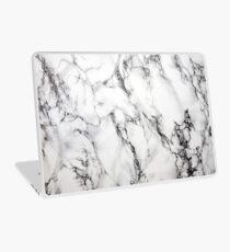 Weisser Marmor Laptop Skin