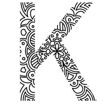 Kappa - Greek Letter Sorority Sticker by susyj