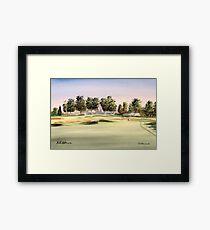 Oakmont Golf Course 14Th Green Framed Print