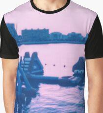 schlaffe Festung Grafik T-Shirt