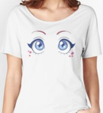 Manga eyes - girl Women's Relaxed Fit T-Shirt