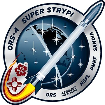 ORS-4 (Super Strypi) Mission Logo by Spacestuffplus