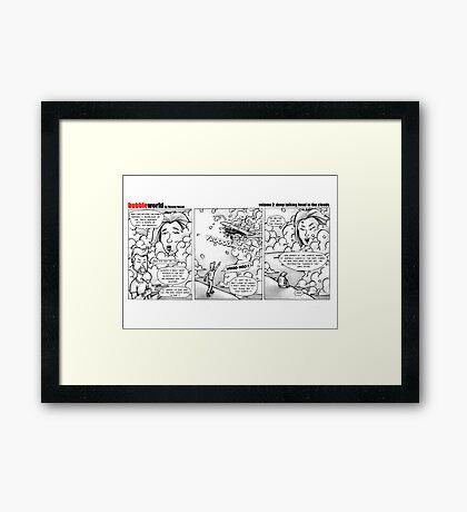 Bubbleworld Volume 2 Framed Print