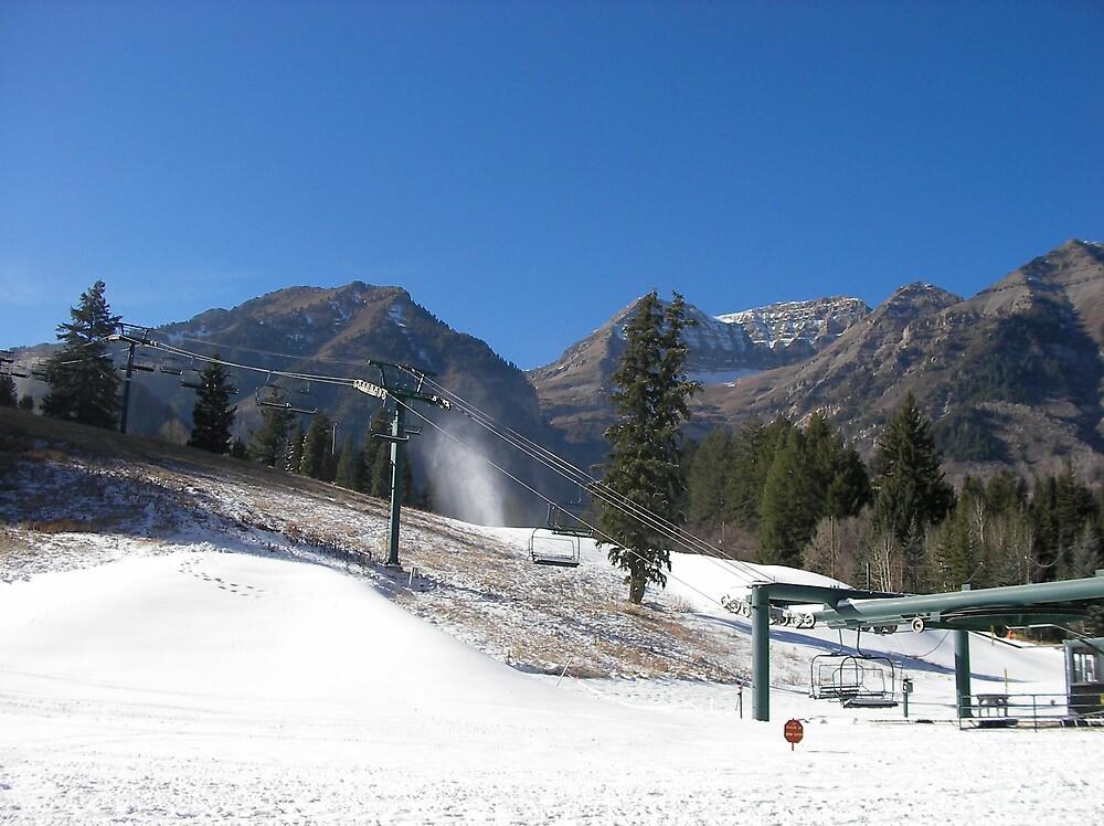 Sundance in Winter by Vpeg