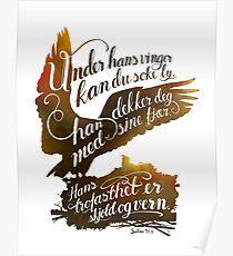 Under hans vinger Poster