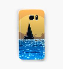 Sailing to the horizon Samsung Galaxy Case/Skin