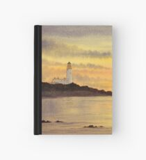 Sunset at Turnberry Hardcover Journal
