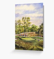Merion Golf Course Greeting Card
