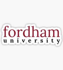 Fordham University Sticker