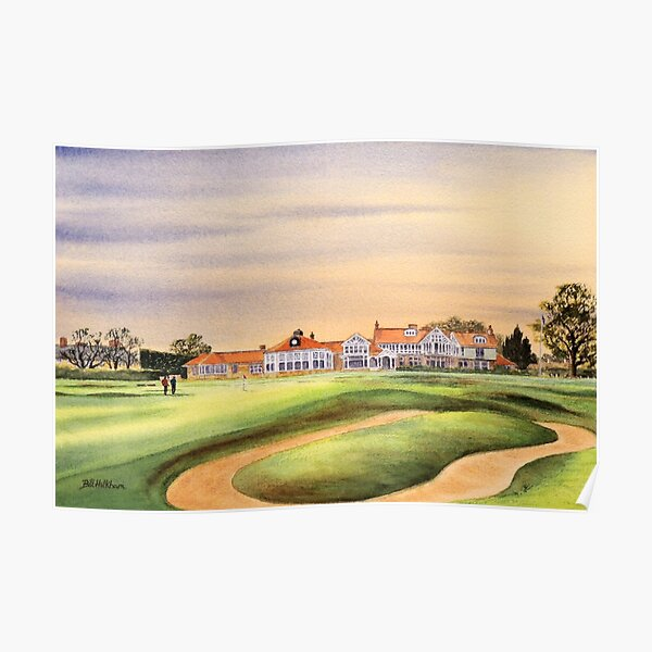 Muirfield Golf Course 18Th Green Poster