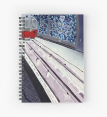 Underground Blues Spiral Notebook