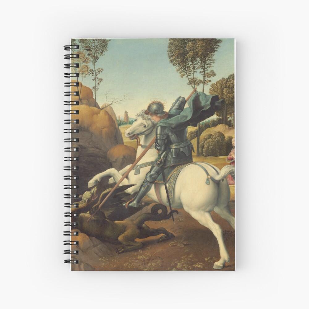 Raphael Saint George and the Dragon Wall Art Poster Print