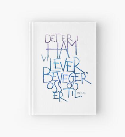 Det er i ham vi lever Hardcover Journal