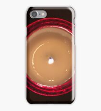 Red Candle iPhone Case/Skin