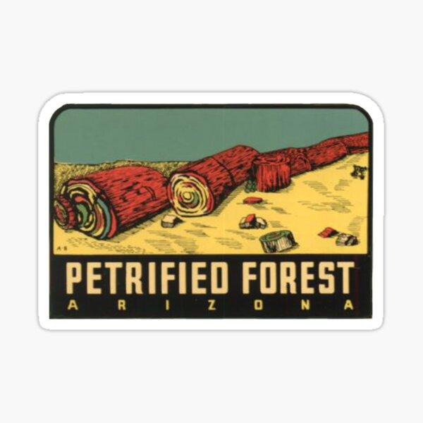 Petrified Forest National Park Vintage Travel Decal Arizona Sticker