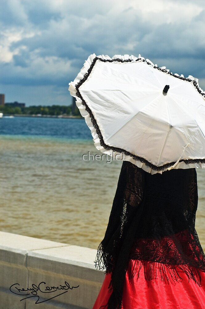 Umbrella girl by cherylc1
