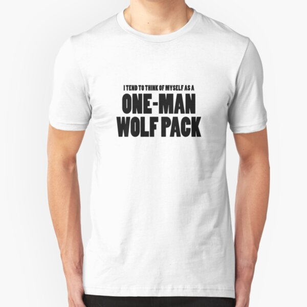 Le hangover ONE MAN WOLF PACK Drôle Film T Shirt