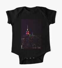 Rainbow Pride Empire State Building Kids Clothes