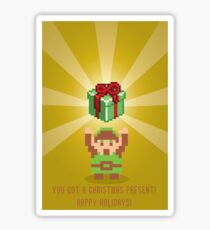 "The Legend of Zelda- ""You Got a Present!"" Sticker"