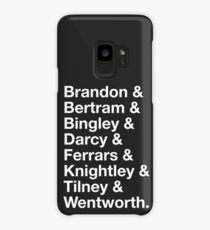 Men of Jane Austen Case/Skin for Samsung Galaxy