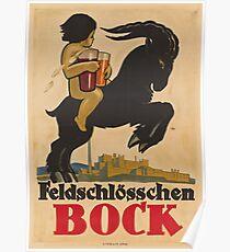 Vintage poster - Feldschlosschen Bock Poster